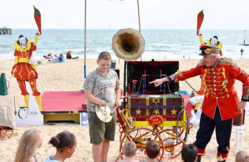 Walton Maritime Museum (CO14 8PY): Magic Show & Travelling Museum of Coastal Curiosities