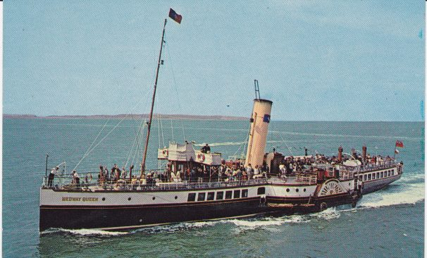 Medway Queen at Southend | Sourced by Roger Kennell, Clacton & District Local History Society