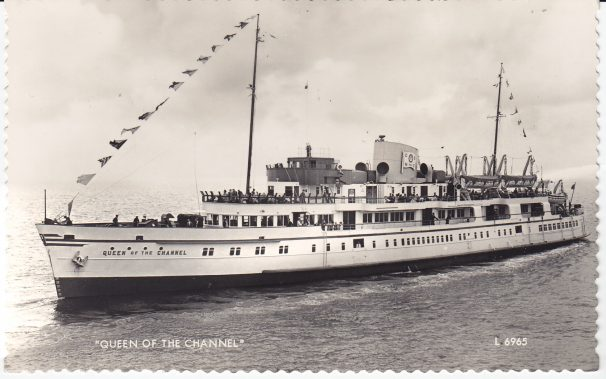 Postcard of Queen of the Channel | Sourced by Roger Kennell, Clacton & District Local History Society