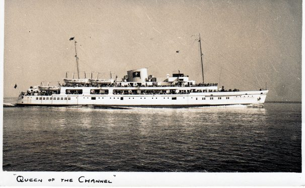Queen of the Channel steamer | Sourced by Roger Kennell, Clacton & District Local History Society