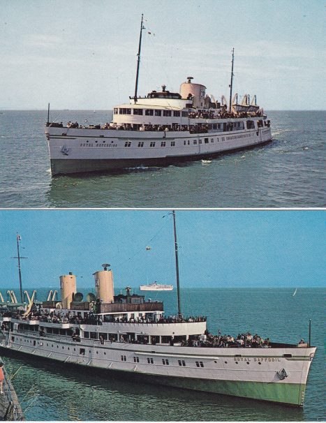 Sovereign & Daffodil pleasure boats | Sourced by Roger Kennell, Clacton & District Local History Society