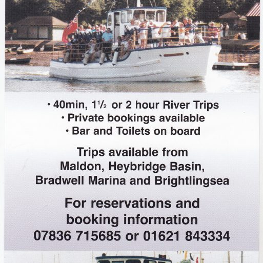 Flyer advert for Viking Saga 2005 | Sourced by Roger Kennell, Clacton & District Local History Society