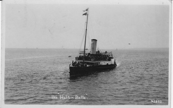 Walton Belle steamer | Sourced by Roger Kennell, Clacton & District Local History Society