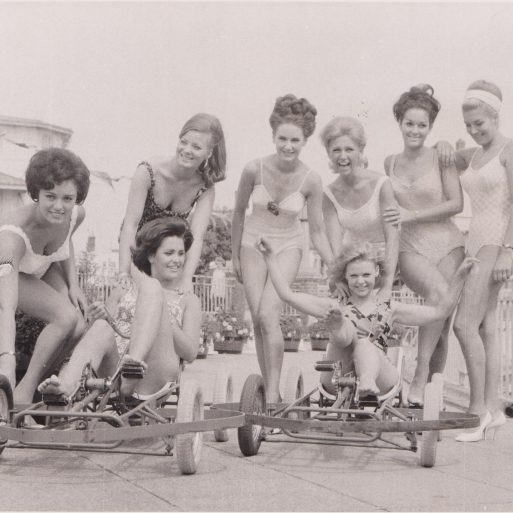 Belles on beach, Clacton-on-Sea | Photo donated by Tendring DC, unaccredited photographer