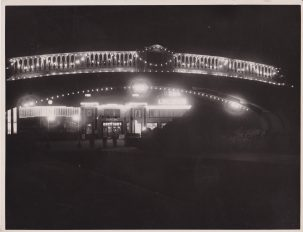 Blue Lagoon dance club, Clacton-on-Sea, night time | Photo donated by Tendring DC, photographer H.L. Smerdon