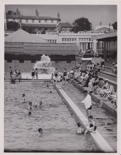 Clacton Pier, swimming pool, date unlisted | Photo donated by Tendring District Council