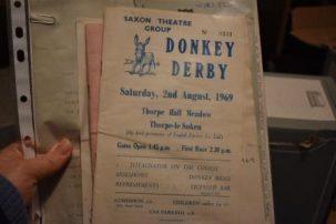 Donkey Derby theatre programme | Frinton & Walton Heritage Trust
