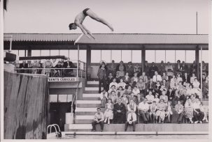 Diver, Clacton Pier, swimming pool | Photo donated by Tendring District Council