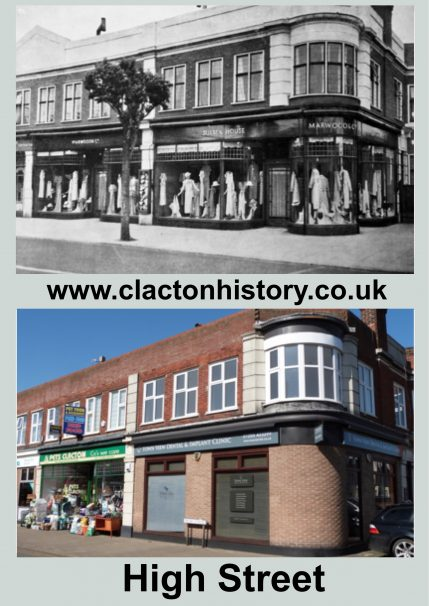 High Street, 1934 & 2018 | Terry Hutchinson