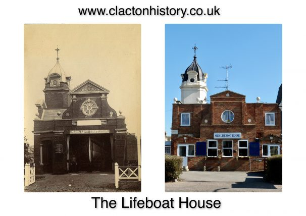 Lifeboat House,Anglefield Then & 2018 | Terry Hutchinson