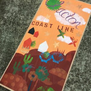 Gigantic postcard by children from Alton Park Junior School | J Davies