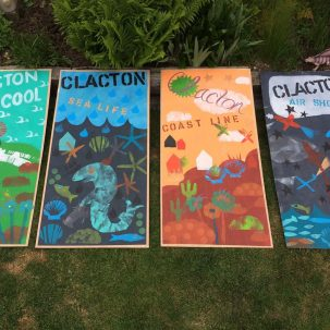 Gigantic postcards by children from Alton Park Junior School | J Davies