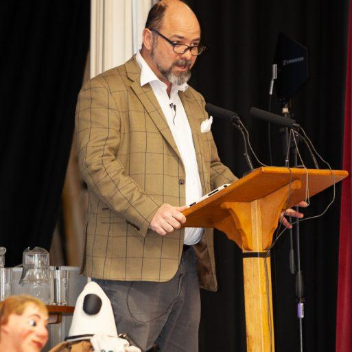 Conference host, Dr. Toby Butler   Jonathan Dayman